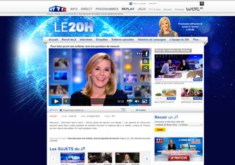 TF1 Journal 20h du 21-02-2012